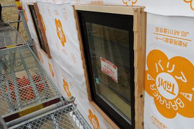 外部窓枠加工