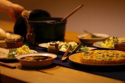 記念日の手料理