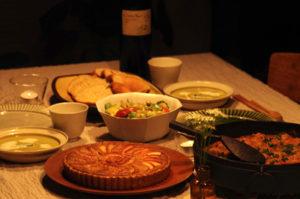 記念日の食事